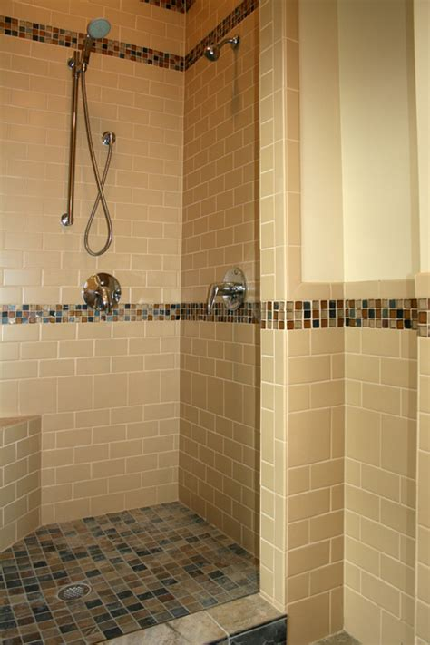 subway tile in bathroom shower explore st louis tile showers tile bathrooms remodeling works of art tile marble
