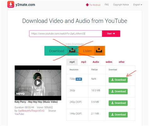 tutorial upload youtube y2mate com review tutorial easily download youtube