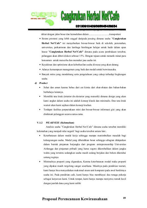 format proposal usaha warnet proposal usaha warnet contoh proposal usaha