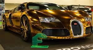 Rapper Bugatti Rapper Flo Rida Buys Gold Chrome Wrapped Bugatti Veyron To