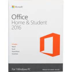 Office Home And Student Microsoft Office Home Student 2016 For Windows 79g 04368