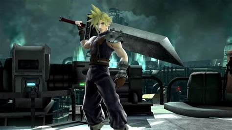 Cloud Strife Joins The Fight In 'Super Smash Bros'