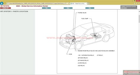 free download parts manuals 2001 toyota camry on board diagnostic system service manual auto repair manual free download 2001 toyota camry instrument cluster toyota