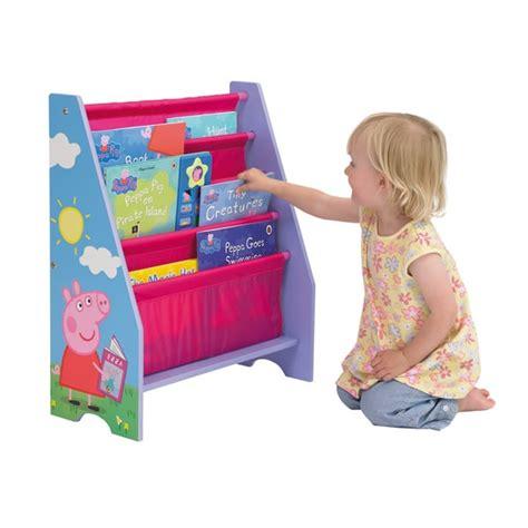 Peppa Pig Bookcase peppa pig sling bookcase le bebe