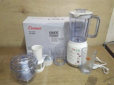 Blender Juicer Plastik Cosmos Cb175 4in1 mp4