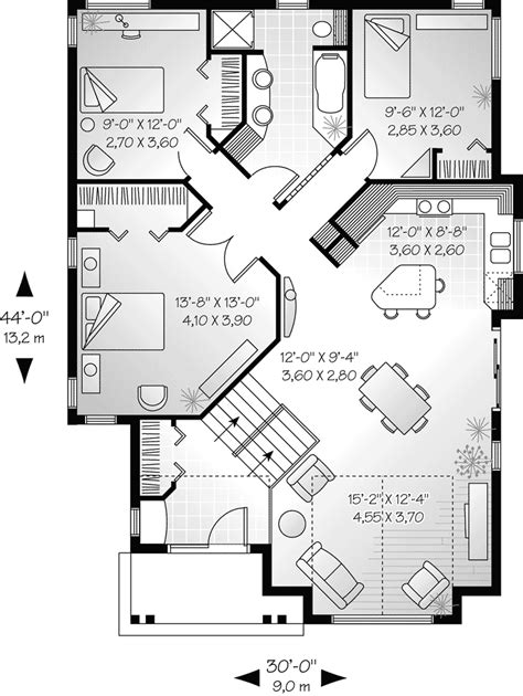 narrow kitchen floor plans saunders narrow lot ranch home plan 032d 0145 house