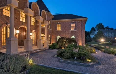 12 000 square foot stately brick mansion in franklin lakes nj homes of the rich