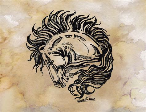traditional horse tattoo traditional www pixshark