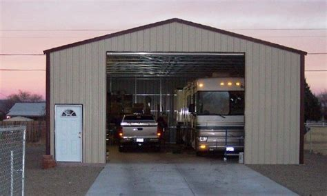 Rv Garage by Metal Rv Garage Lots Of Extra Space