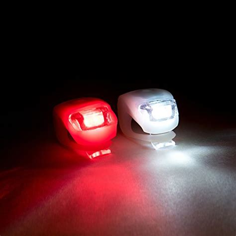 led light set bicycle led lights by shining buddy front and rear safety