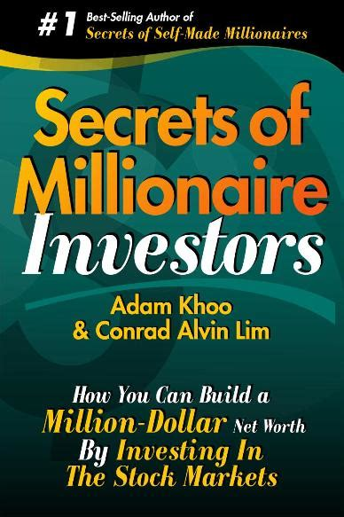 secrets self made millionaires teach their books adam khoo secrets of millionaire investors 免费电子图书下载
