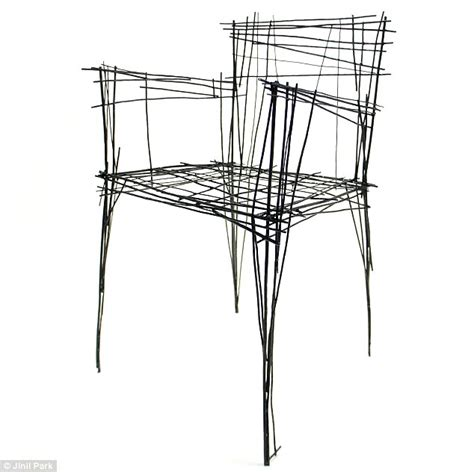 design your own armchair which is a sketch and which is a real chair incredible