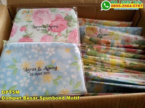 Harga Kain Spunbond Motif souvenir dompet besar kain spunbond bermotif souvenir