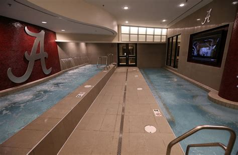 of south alabama rooms arms race the top hydrotherapy pools in college football