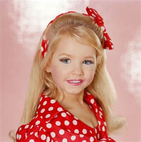 Beauty pageant for little girls polka dots