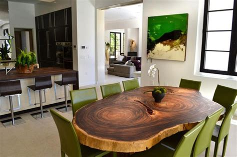 nice table designs a set of photos of dining room interior designs modern