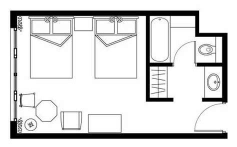 plano de habitacion disney hotel sequoia disneyland