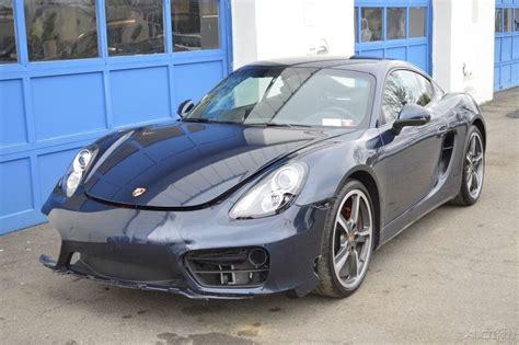 Porsche Cayman S Sport For Sale by 2014 Porsche Cayman S 3 4l Rebuildable Salvage For Sale