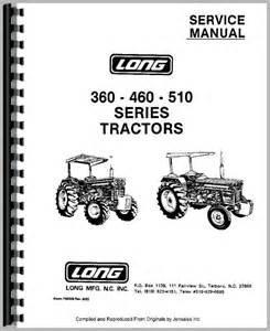 360 Service Manual 360 Tractor Service Manual