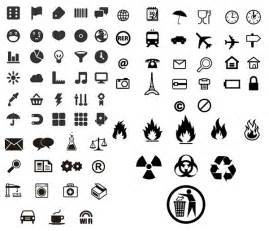 utility marking of small icons vector graphic hive