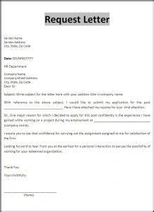 request letter templates images business