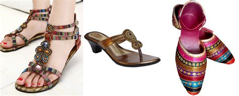 Sandal Ethnic India ethnic indian shoes in your wardrobe fashionbuzzer