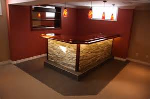 Custom Made Bars Custom Built Bars And Basement Renovations Max Improvements