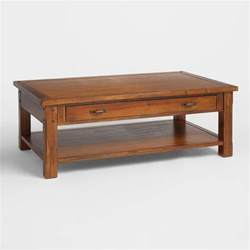 what to put on coffee tables madera coffee table world market