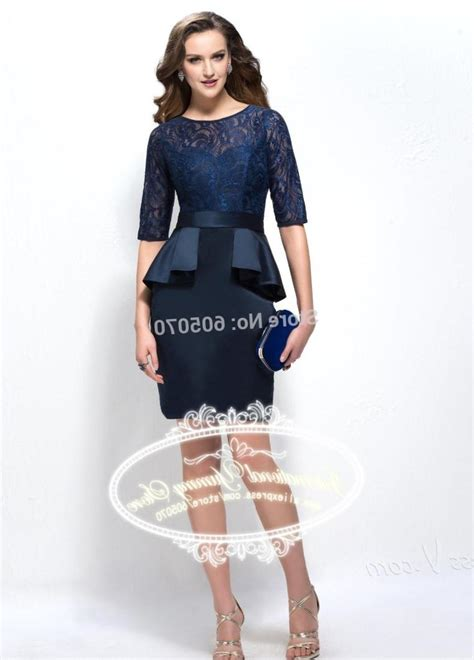 Of The Dresses by Plus Size Blue Lace Dress Pluslook Eu Collection