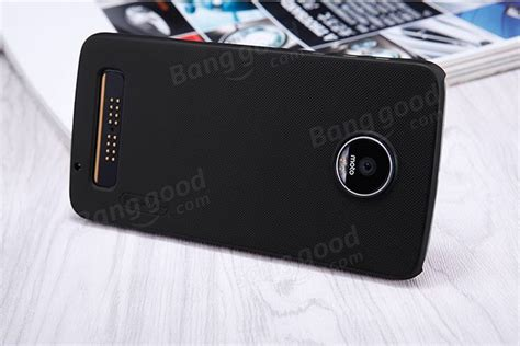 Moto Z Play Motozplay Frosted Shield Nillkin Hardcase Cover nillkin frosted shield matte pc back cover for moto z play sale banggood