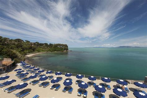 porto santo stefano spiagge hotel quattro stelle con spiaggia privata e ristorante a