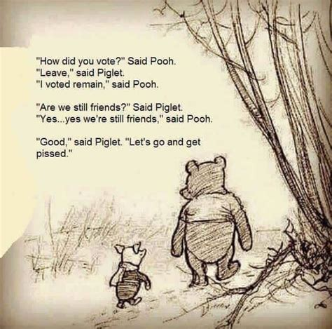 Winnie The Pooh Meme by Winnie The Pooh Brexit Meme Now Has A Less Vomit Inducing