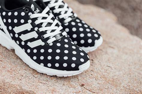 Adidas Zx Flux Polkadot Black White adidas zx flux polka dot black white sneakerfiles