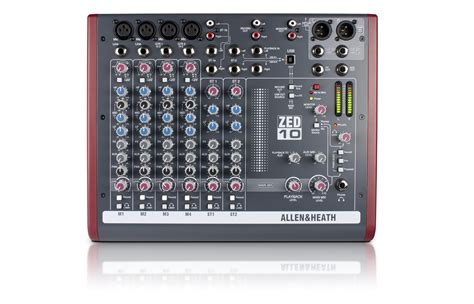 Mixer Audio Allen mixer audio allen heath zed 10