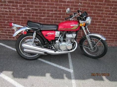 Suzuki 2 Stroke Bikes 1974 Suzuki Gt 550 Two Stroke Bike For Sale On