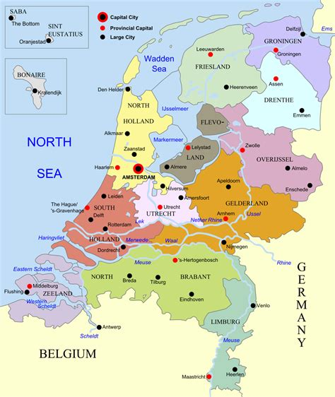 map of netherlands belgium and map of belgium and netherlands