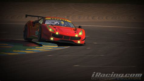 ferrari 488 modified iracing ferrari 488 gte first look inside sim racing