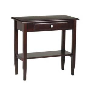 Entrance Table With Drawers Foyer Drawer Shelf Entry Table Merlot Console Sofa Tables