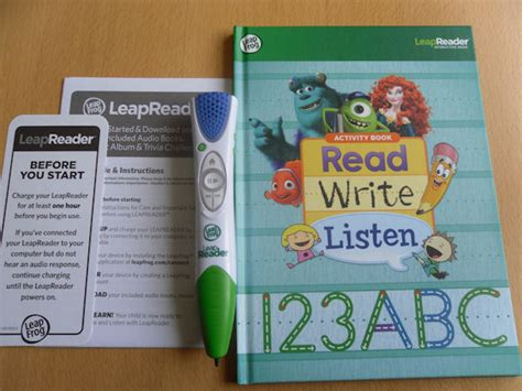 leapreader writing paper leapreader reading and writing system
