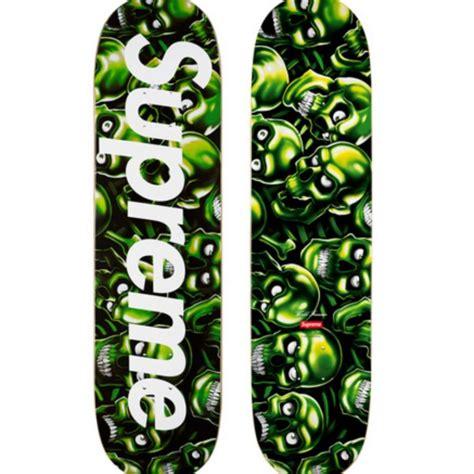 supreme skate supreme skull pile deck skate strictlypreme