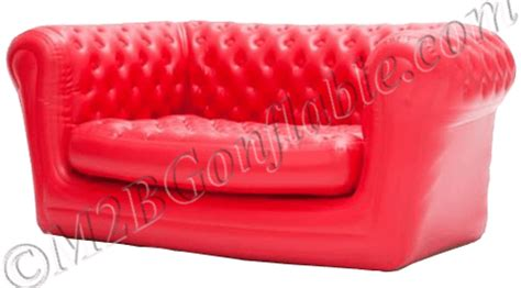 canapé chesterfield gonflable nos mobiliers gonflables m2b gonflable