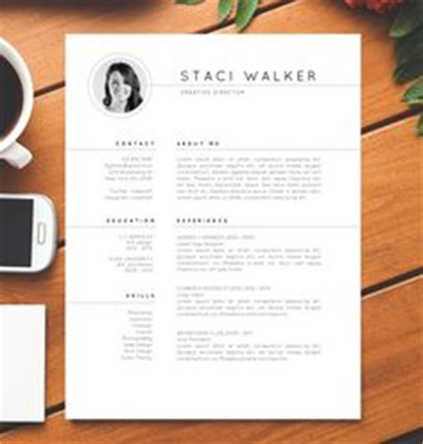 Resume Template The 3pk by 1000 Ideas About Creative Cv Template On