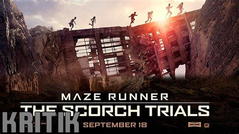 film maze runner 2 youtube kritik maze runner 2 taschen filme youtube