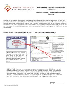 printable w 9 form wisconsin fillable online dcf wisconsin w 9 taxpayer indentification