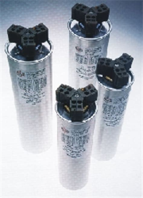 cylindrical capacitor voltage pfc cylindrical capacitors power factor correction systems