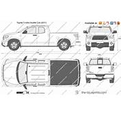 The Blueprintscom  Vector Drawing Toyota Tundra Double Cab