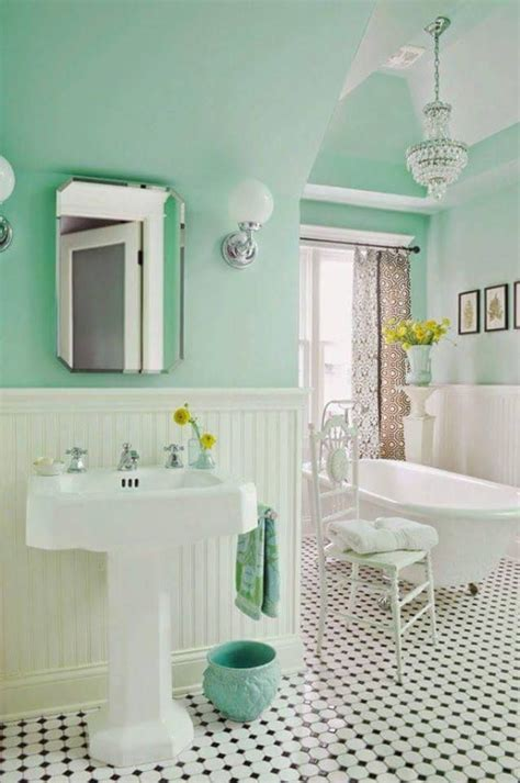 cottage bathroom colors 25 best ideas about mint green bathrooms on
