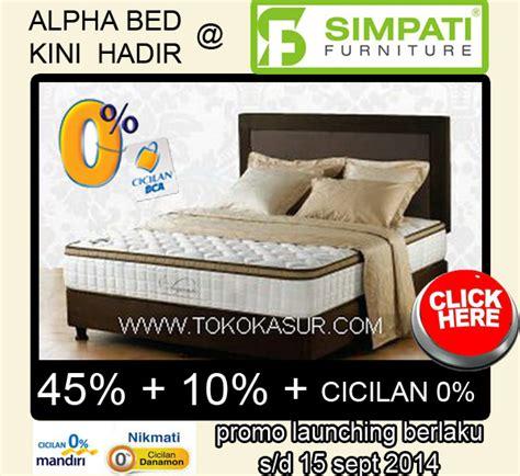 Bed Kasur Saja Uk 100x200 Jabodetabek toko furniture simpati paling murah paling lengkap