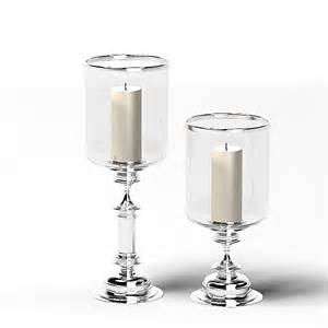 Home Interior Candle Holders 3ds glass chrome candle
