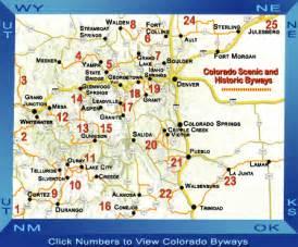 colorado scenic drives map home tour colorado
